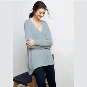 Anthropologie Deletta Lokka Oversized Tee Top XS